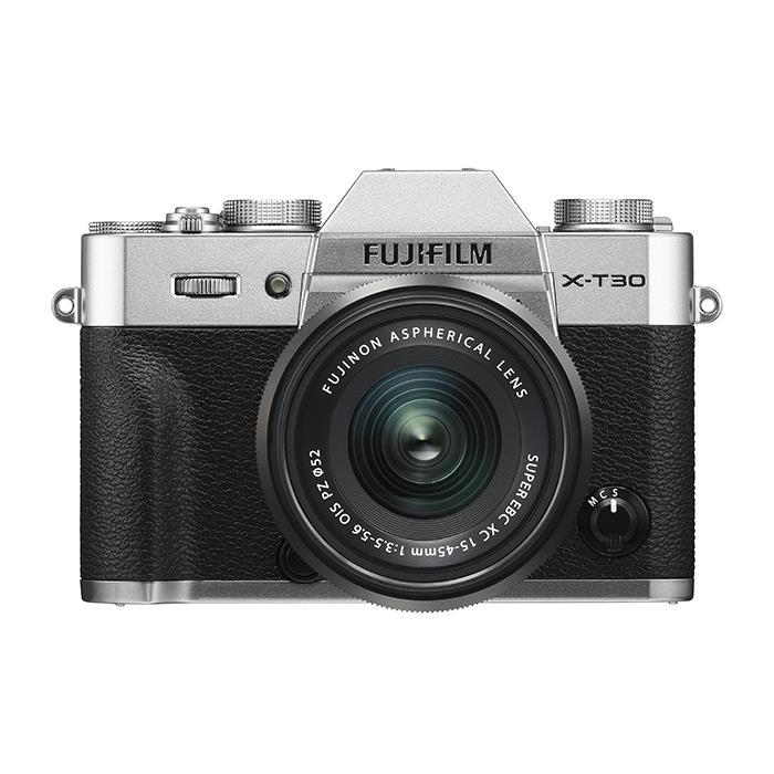 《新品》 FUJIFILM (フジフイルム) X-T30 XC15-45mmレンズキット シルバー [ ミラーレス一眼カメラ   デジタル一眼カメラ   デジタルカメラ ]【KK9N0D18P】【対象レンズと同時購入で¥20,000-キャッシュバック】