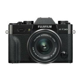 《新品》 FUJIFILM (フジフイルム) X-T30 XC15-45mmレンズキット ブラック【KK9N0D18P】