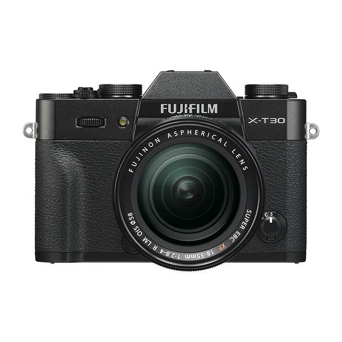 《新品》 FUJIFILM (フジフイルム) X-T30 XF18-55mmレンズキット ブラック [ ミラーレス一眼カメラ   デジタル一眼カメラ   デジタルカメラ ]【KK9N0D18P】【対象レンズと同時購入で¥20,000-キャッシュバック】