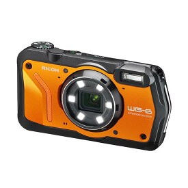 《新品》RICOH (リコー) WG-6 オレンジ [ コンパクトデジタルカメラ ]【KK9N0D18P】