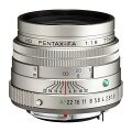 《新品》PENTAX(ペンタックス)HDFA77mmF1.8Limitedシルバー[Lens|交換レンズ]【KK9N0D18P】発売予定日:2021年4月下旬