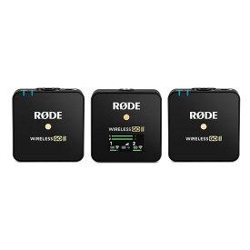 《新品アクセサリー》RODE(ロード)Wireless GO II 【KK9N0D18P】