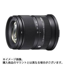 《新品》 SIGMA (シグマ) C 18-50mm F2.8 DC DN (ソニーE用) [ Lens | 交換レンズ ]【KK9N0D18P】発売予定日:2021年10月29日【¥5,000-キャッシュバック対象】