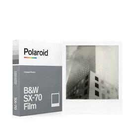 《新品アクセサリー》 Polaroid Originals(ポラロイド オリジナルズ) インスタントフィルム B&W Film for SX-70〕【KK9N0D18P】