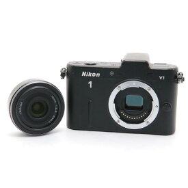 【あす楽】 【中古】 《並品》 Nikon Nikon 1 V1 薄型レンズキット ブラック [ デジタルカメラ ]