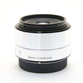 【あす楽】 【中古】 《並品》 SIGMA A 30mm F2.8 DN (マイクロフォーサーズ用) シルバー [ Lens | 交換レンズ ]