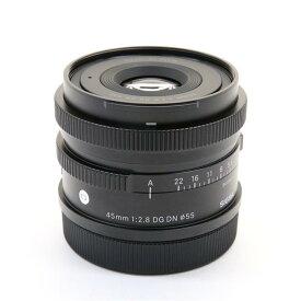 【あす楽】 【中古】 《美品》 SIGMA C 45mm F2.8 DG DN(ライカSL/TL用) [ Lens | 交換レンズ ]