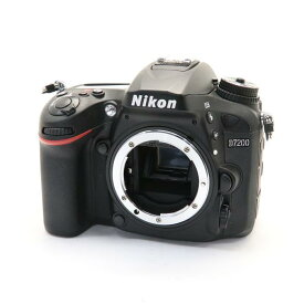 【あす楽】 【中古】 《良品》 Nikon D7200 ボディ [ デジタルカメラ ]