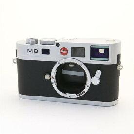 【あす楽】 【中古】 《美品》 Leica M8ボディ シルバー 【ライカカメラジャパンにてシャッターチャージ機構部品交換/センサークリーニング/各部点検済】 [ デジタルカメラ ]