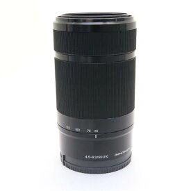 【あす楽】 【中古】 《良品》 SONY E 55-210mm F4.5-6.3 OSS SEL55210 ブラック [ Lens | 交換レンズ ]