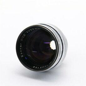 【あす楽】 【中古】 《難有品》 ZEISS Sonnar 50mm F1.5 (Contax C) ※旧コンタックスレンジファインダー用 [ Lens   交換レンズ ]