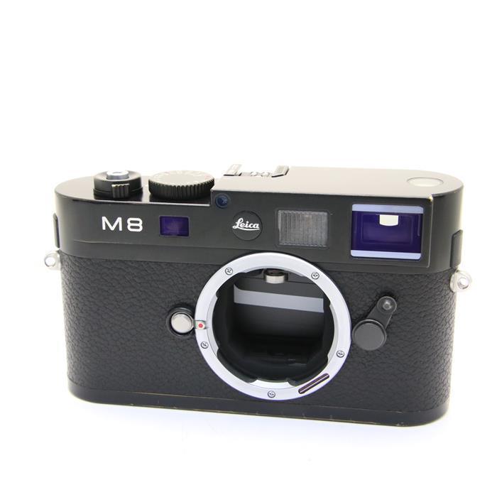 【あす楽】 【中古】 《並品》 Leica M8.2 ブラック 【ライカカメラジャパンにてセンサークリーニング/シャッターチャージ機構部品交換/各部点検済】 [ デジタルカメラ ]