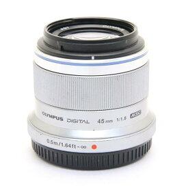 【あす楽】 【中古】 《並品》 OLYMPUS M.ZUIKO DIGITAL 45mm F1.8 シルバー (マイクロフォーサーズ) [ Lens   交換レンズ ]