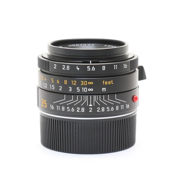 【あす楽】 【中古】 《良品》 Leica ズミクロン M35mm F2 ASPH (6bit) (フードはめ込み式) ブラック [ Lens   交換レンズ ]