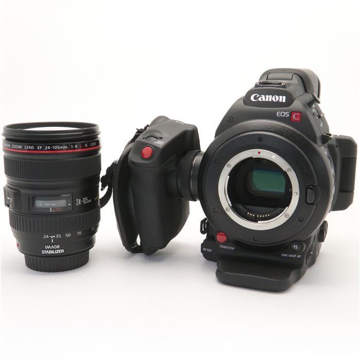 【あす楽】 【中古】 《美品》 Canon EOS C100 MarkII EF24-105L IS USM レンズキット ※CINEMA EO