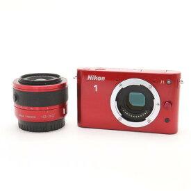 【あす楽】 【中古】 《良品》 Nikon Nikon 1 J1 標準ズームレンズキット レッド [ デジタルカメラ ]