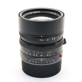 【あす楽】 【中古】 《並品》 Leica ズミルックス M50mm F1.4 ASPH. (6bit) ブラック [ Lens | 交換レンズ ]