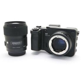 【あす楽】 【中古】 《美品》 SIGMA sd Quattro H & A 35mm F1.4 DG HSM レンズキット [ デジタルカメラ ]