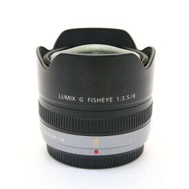 【あす楽】 【中古】 《並品》 Panasonic LUMIX G FISHEYE 8mm F3.5 (マイクロフォーサーズ) [ Lens | 交換レンズ ]