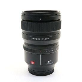 【あす楽】 【中古】 《美品》 Panasonic LUMIX S PRO 50mm F1.4 S-X50 [ Lens | 交換レンズ ]