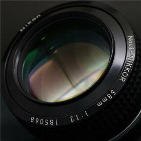 【あす楽】 【中古】 《良品》 Nikon Ai-S Nikkor 58mm F1.2 Noct 【ニッコール往年の銘玉 Noct入荷!】【ピントリング作動調整/各部点検済】 [ Lens | 交換レンズ ]