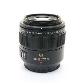 【あす楽】 【中古】 《美品》 Panasonic LEICA DG MACRO-ELMARIT 45mm F2.8 ASPH. MEGA O.I.S. (マイクロフォーサーズ) [ Lens | 交換レンズ ]