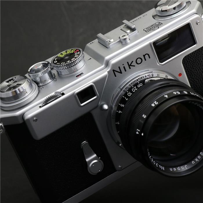 【あす楽】 【中古】 《美品》 Nikon S3 Limited Edition (50mm F1.4付) シルバー 【ファインダー内清掃/シャッタースピードピント調整/各部点検済】