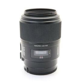 【あす楽】 【中古】 《良品》 SONY 100mm F2.8 マクロ SAL100M28 [ Lens   交換レンズ ]