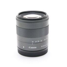 【あす楽】 【中古】 《美品》 Canon EF-M18-55mm F3.5-5.6 IS STM [ Lens   交換レンズ ]