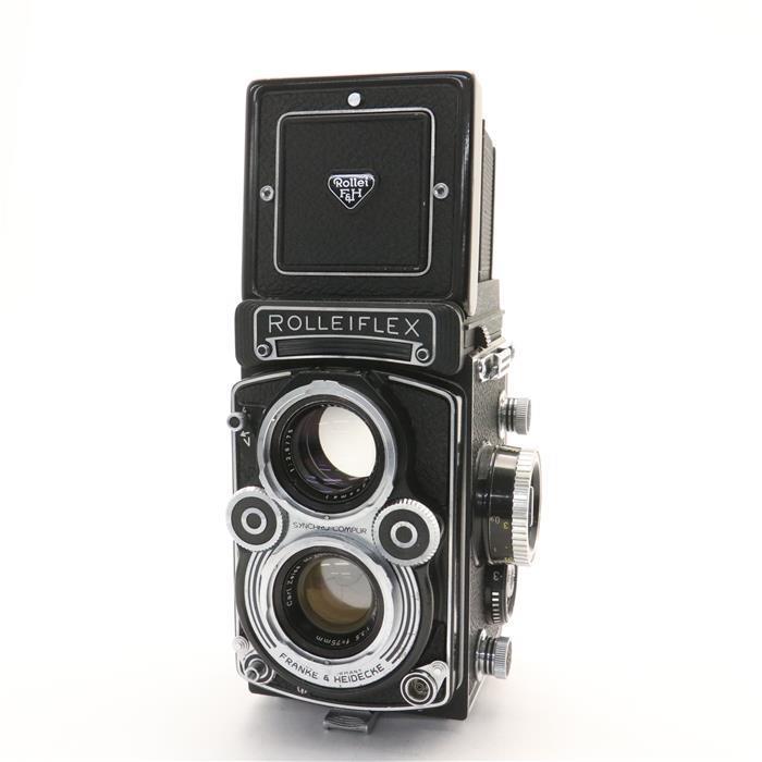【あす楽】 【中古】 《並品》 Rollei ローライフレックス 3.5F (プラナー) 【撮影レンズクリーニング/シャッタースピードピント調整/各部点検済】