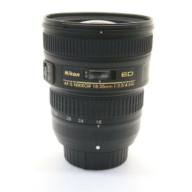 【あす楽】 【中古】 《美品》 Nikon AF-S NIKKOR 18-35mm F3.5-4.5G ED [ Lens | 交換レンズ ]
