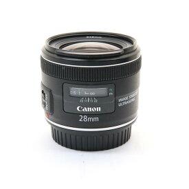 【あす楽】 【中古】 《良品》 Canon EF28mm F2.8 IS USM [ Lens | 交換レンズ ]