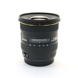 【あす楽】 【中古】 《美品》 SIGMA 10-20mm F4-5.6 EX DC HSM(キヤノン用) [ Lens | 交換レンズ ]