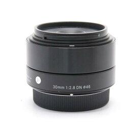 【あす楽】 【中古】 《良品》 SIGMA A 30mm F2.8 DN (マイクロフォーサーズ用) ブラック [ Lens | 交換レンズ ]