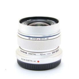 【あす楽】 【中古】 《並品》 OLYMPUS M.ZUIKO DIGITAL ED 12mm F2.0 シルバー (マイクロフォーサーズ) [ Lens | 交換レンズ ]