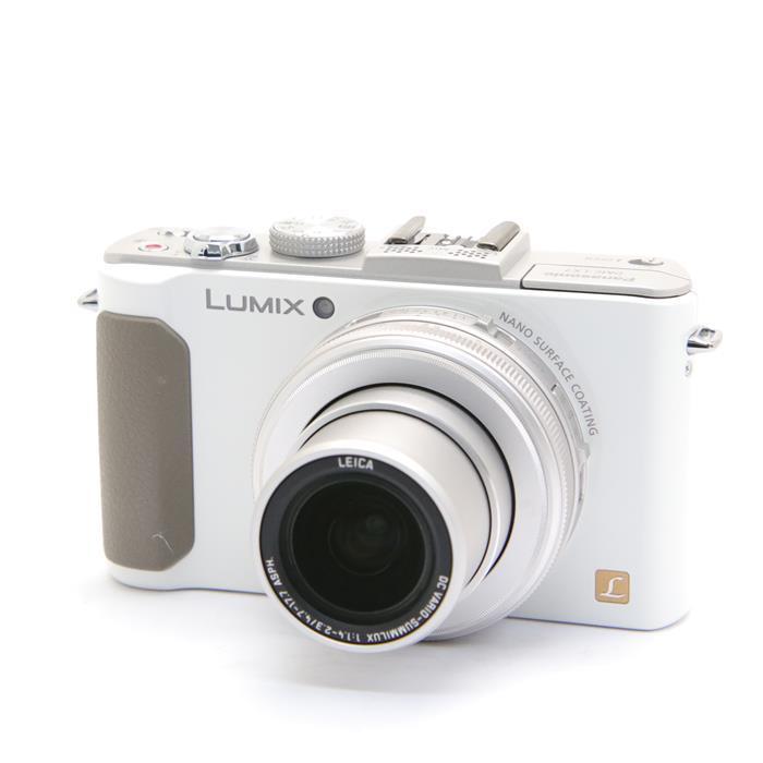 【あす楽】 【中古】 《良品》 Panasonic LUMIX DMC-LX7-W ホワイト [ デジタルカメラ ]