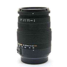 【あす楽】 【中古】 《良品》 SIGMA 50-200mm F4-5.6 DC OS HSM (ソニー用) [ Lens   交換レンズ ]