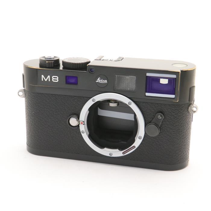 【あす楽】 【中古】 《並品》 Leica M8.2 ブラック 【ライカカメラジャパンにてセンサークリーニング/各部点検済】 [ デジタルカメラ ]