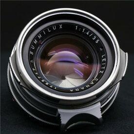 【あす楽】 【中古】 《美品》 Leica ズミルックス M35mm F1.4 1st シルバー *フィルター径E41 【希少な第1世代のズミルックス初期型モデル!】【レンズ内クリーニング/各部点検済】 [ Lens | 交換レンズ ]