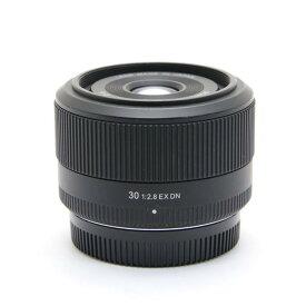 【あす楽】 【中古】 《並品》 SIGMA 30mm F2.8 EX DN(マイクロフォーサーズ用) [ Lens | 交換レンズ ]