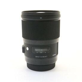 【あす楽】 【中古】 《並品》 SIGMA A 28mm F1.4 DG HSM(キヤノン用) [ Lens | 交換レンズ ]