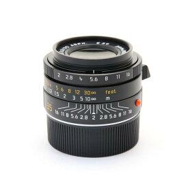 【あす楽】 【中古】 《美品》 Leica ズミクロン M35mm F2 ASPH 6bit (フードはめ込み式) ブラック [ Lens | 交換レンズ ]