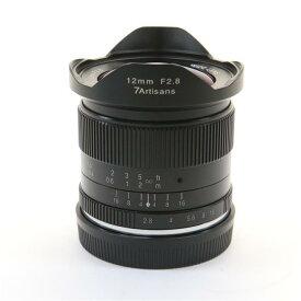 【あす楽】 【中古】 《美品》 七工匠 7artisans 12mm F2.8(EOS-M用) ブラック [ Lens | 交換レンズ ]