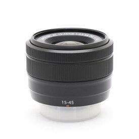 【あす楽】 【中古】 《良品》 FUJIFILM フジノン XC15-45mm F3.5-5.6 OIS PZ ブラック [ Lens   交換レンズ ]