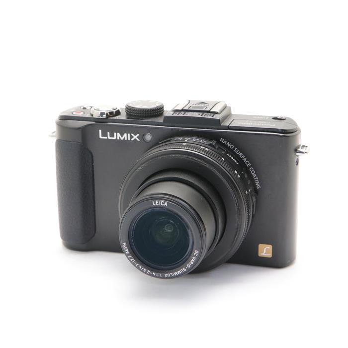 【あす楽】 【中古】 《並品》 Panasonic LUMIX DMC-LX7-K 海外モデル ブラック [ デジタルカメラ ]