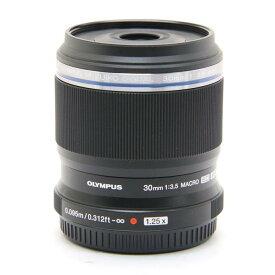 【あす楽】 【中古】 《美品》 OLYMPUS M.ZUIKO DIGITAL ED 30mm F3.5 Macro (マイクロフォーサーズ) [ Lens | 交換レンズ ]