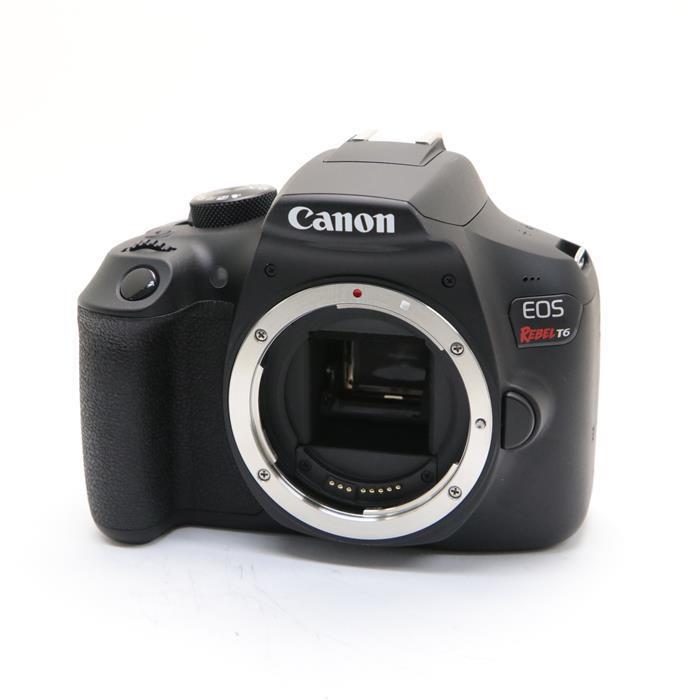 【あす楽】 【中古】 《美品》 Canon EOS REBEL T6 (EOS Kiss X80 海外モデル) [ デジタルカメラ ]