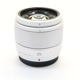 【あす楽】 【中古】 《美品》 Panasonic G 25mm F1.7 ASPH. シルバー (マイクロフォーサーズ) [ Lens | 交換レンズ ]