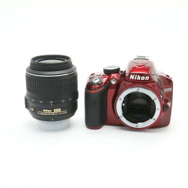 【あす楽】 【中古】 《良品》 Nikon D3200 レンズキット レッド [ デジタルカメラ ]