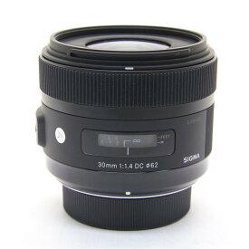 【あす楽】 【中古】 《美品》 SIGMA A 30mm F1.4 DC HSM (ニコン用) [ Lens | 交換レンズ ]